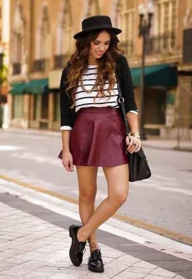 Different types of shoes with a variety of skirts (14)