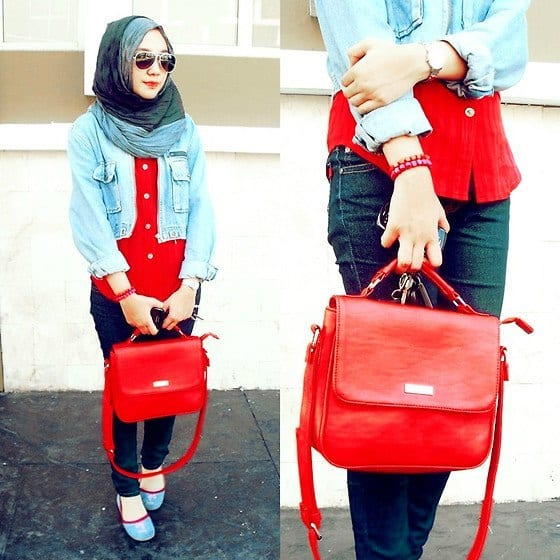 83 Hijab with Jeans–19 Modest Hijab Jeans Outfits this Season