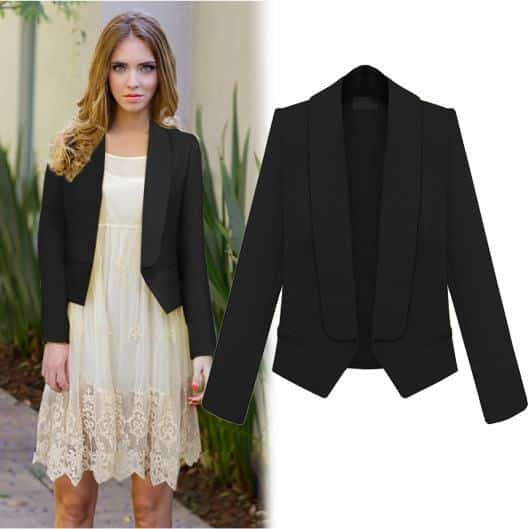 bl14 Women Blazer Outfits-20 Ways to Wear Blazer in Different Styles