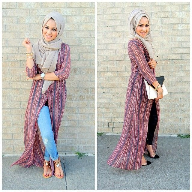 ch1 Casual Hijab Outfits–20 Ways to Wear Hijab Casually
