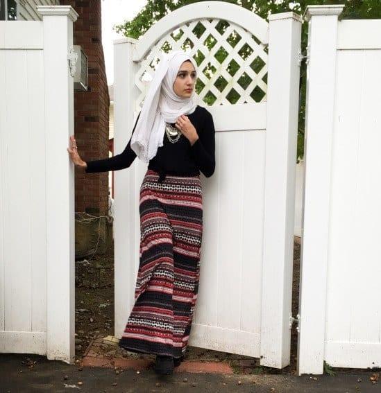 g5 Grunge Hijab Styles – 15 Best Grunge Hijab Looks This Season