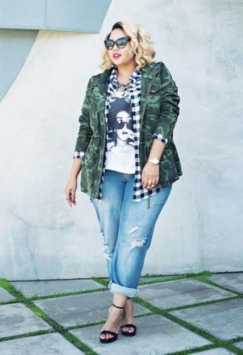 pb4-343x500 18 Plus size Women Boyfriend Jeans Outfits Combinations