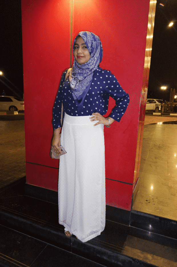 How to wear hijab with palazzo pants? (1)