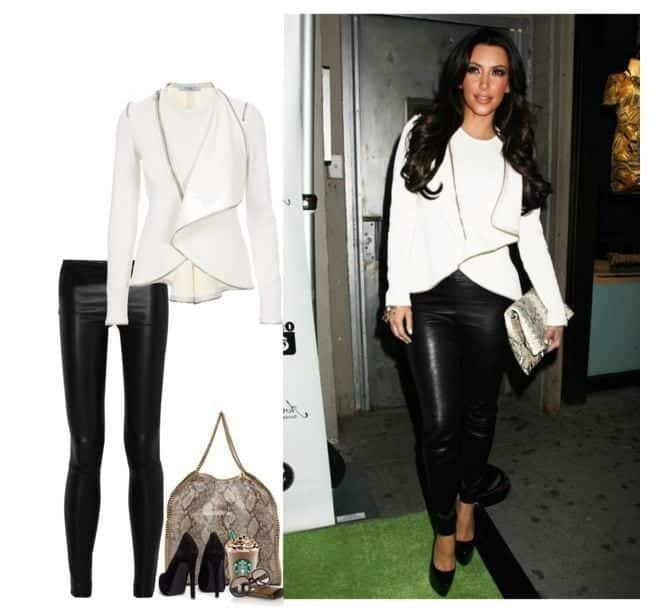 whiteblack Women Blazer Outfits-20 Ways to Wear Blazer in Different Styles