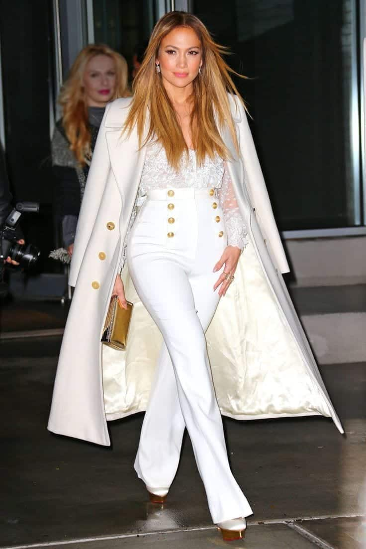 00872f3904ed30a403335d90c89294ec 20 Ways to Wear All White Outfits Like Celebrities this Year