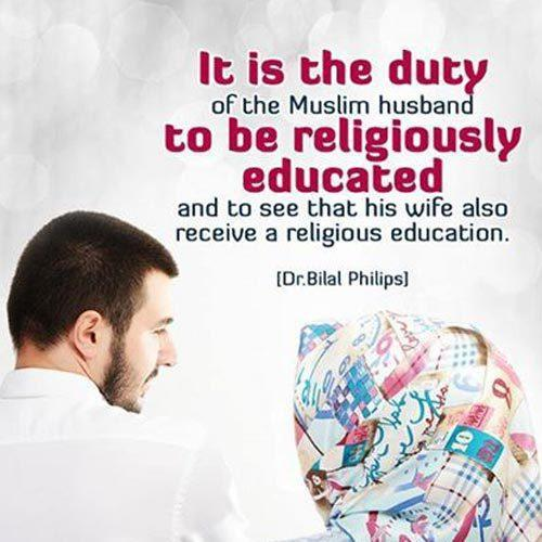 husband and wife relationship in islam quotes marriage