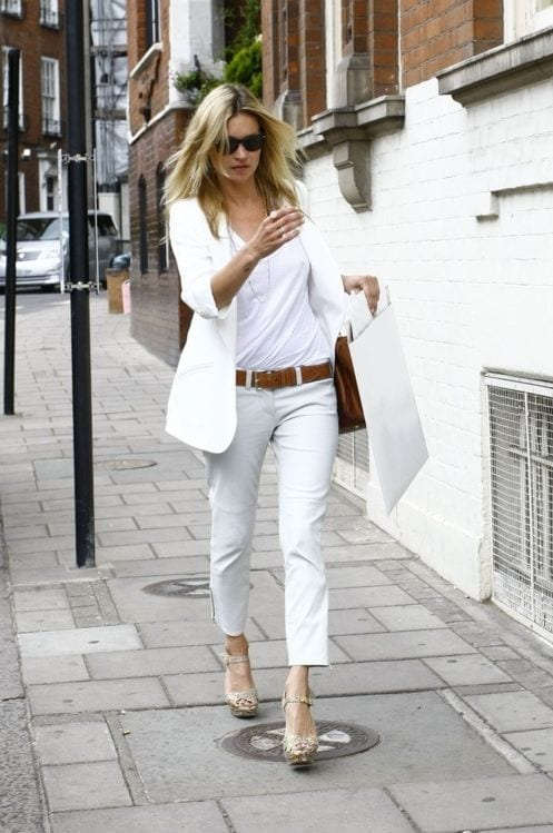 b4fe6b20c913c7b57a4154ae4c725c94 20 Ways to Wear All White Outfits Like Celebrities this Year