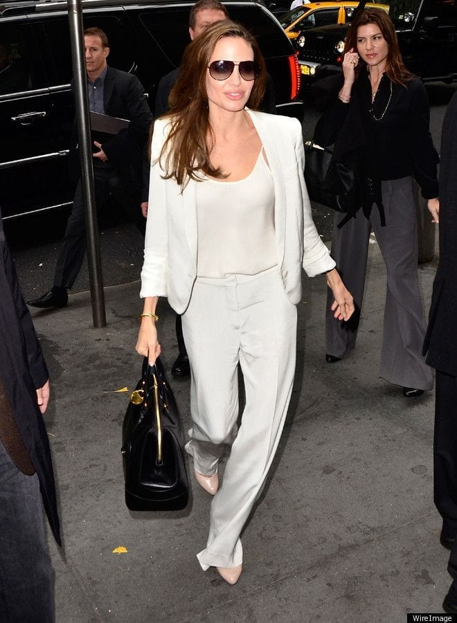fd02527055a10bed8750a040ebc6f949 20 Ways to Wear All White Outfits Like Celebrities this Year