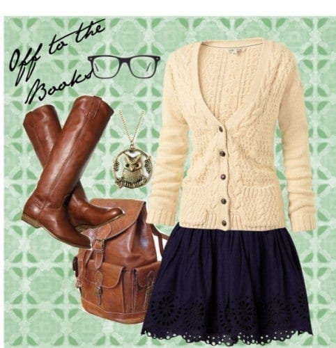 Cute Nerd outfits for Girls