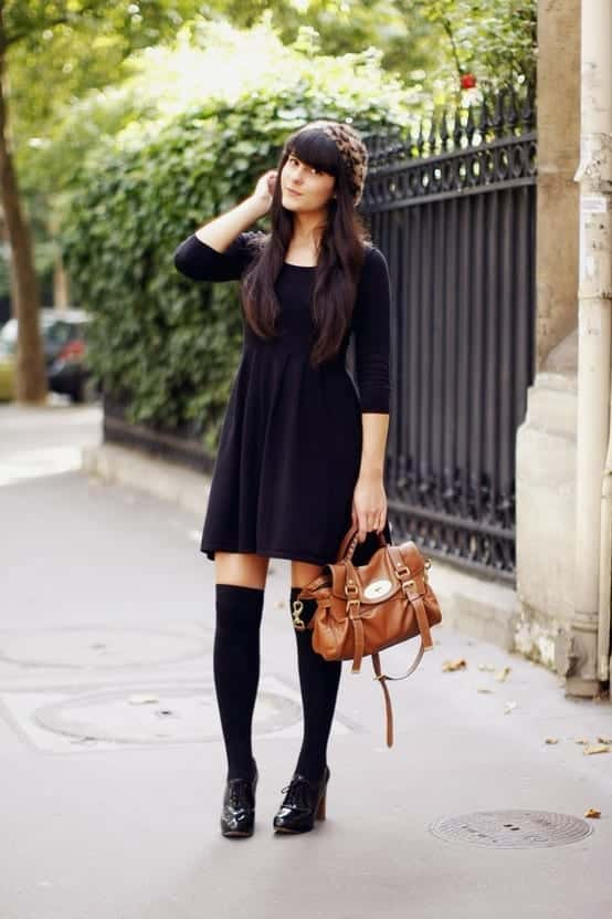 Knee High Socks Outfits 23 Cute Ways To Wear
