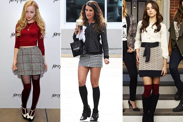 KHS2 Knee High Socks Outfits-23 Cute Ways to wear Knee High Socks
