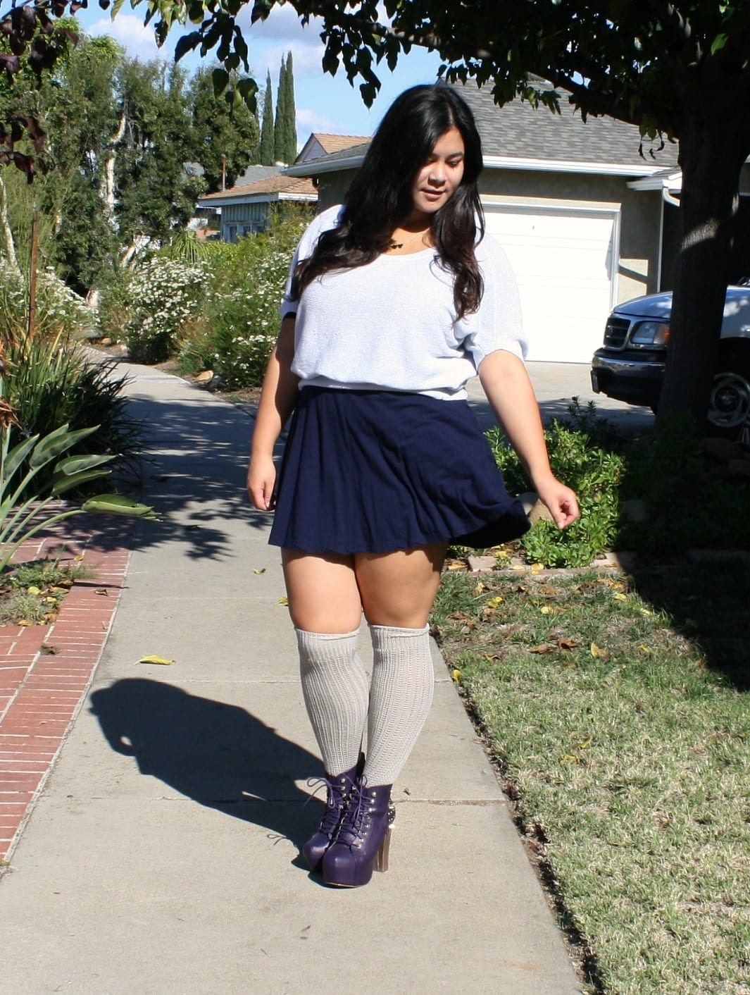KHS200 Knee High Socks Outfits-23 Cute Ways to wear Knee High Socks