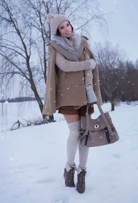 KHS23 Knee High Socks Outfits-23 Cute Ways to wear Knee High Socks