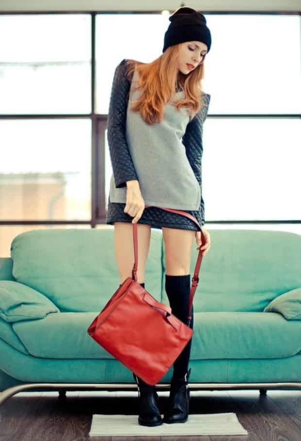 KHS6 Knee High Socks Outfits-23 Cute Ways to wear Knee High Socks
