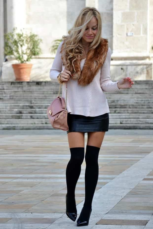 KHS7 Knee High Socks Outfits-23 Cute Ways to wear Knee High Socks