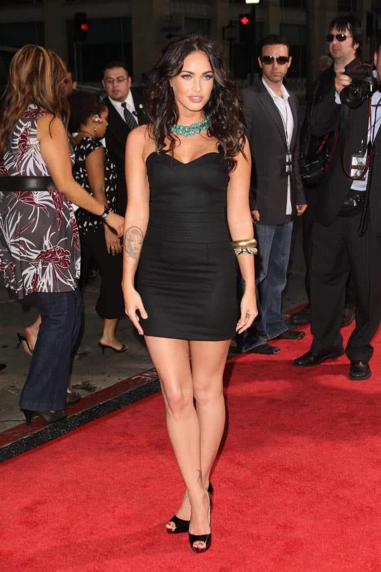 Megan fox outfits9 - Top 10 Curvy Celebrities