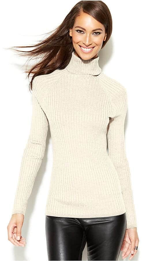 TN1 How to Wear Turtle Neck Sweater? 24 Cute Outfit Ideas