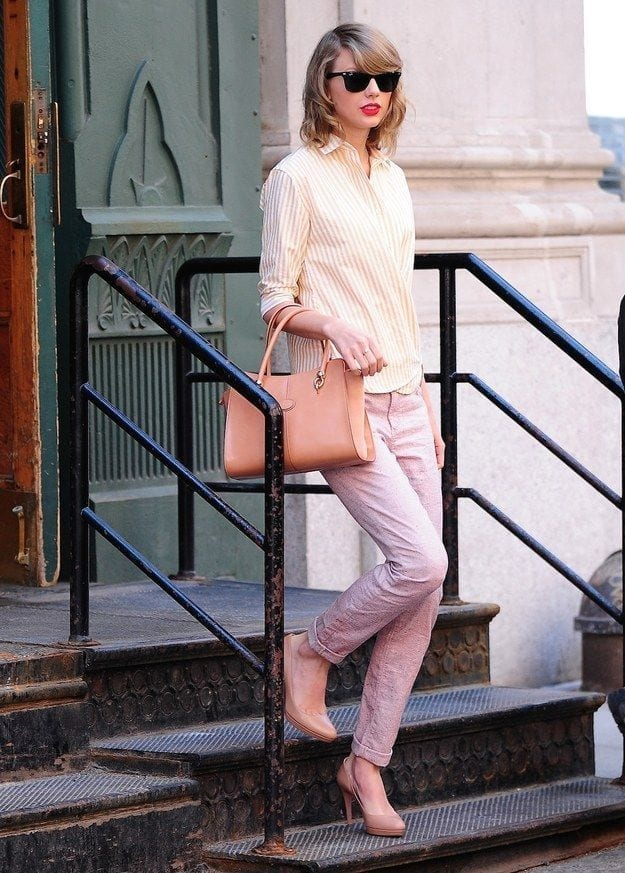 f9f8906ce6290def4e0899d63d27fe01 Taylor Swift Fashion - 25 Cutest Taylor Swift Outfits to Copy This Year