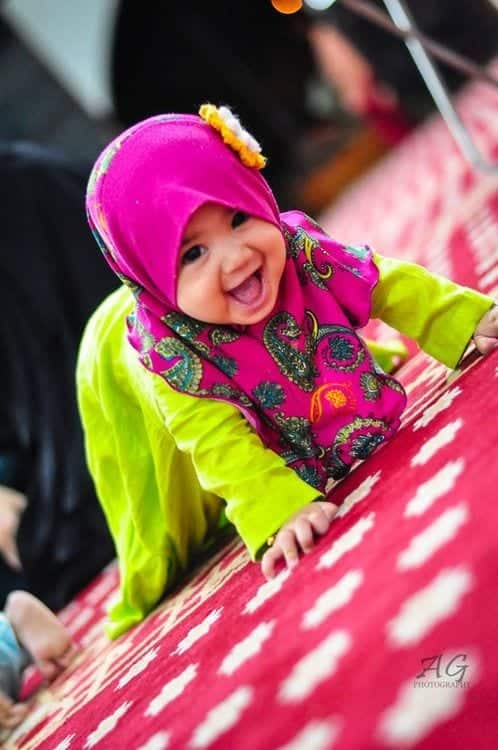 Cute Muslim Baby Girls in Hijab (15)