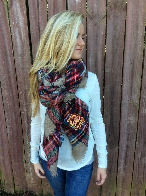 Oversize and Blanket Scarf Ideas