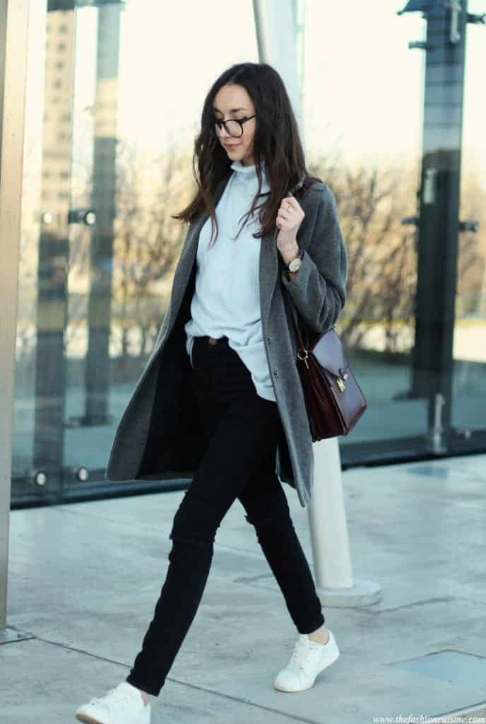 tn17-688x1024 How to Wear Turtle Neck Sweater? 24 Cute Outfit Ideas