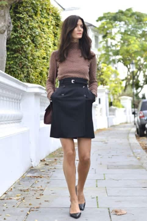 tn4 How to Wear Turtle Neck Sweater? 24 Cute Outfit Ideas