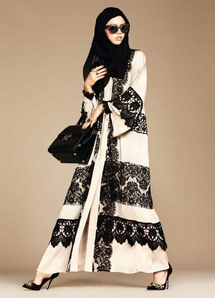 11-exclusive-dolce-gabbana-abaya-line-742x1024 Dolce & Gabbana Hijab and Abaya Collection 2016-Branded Girls