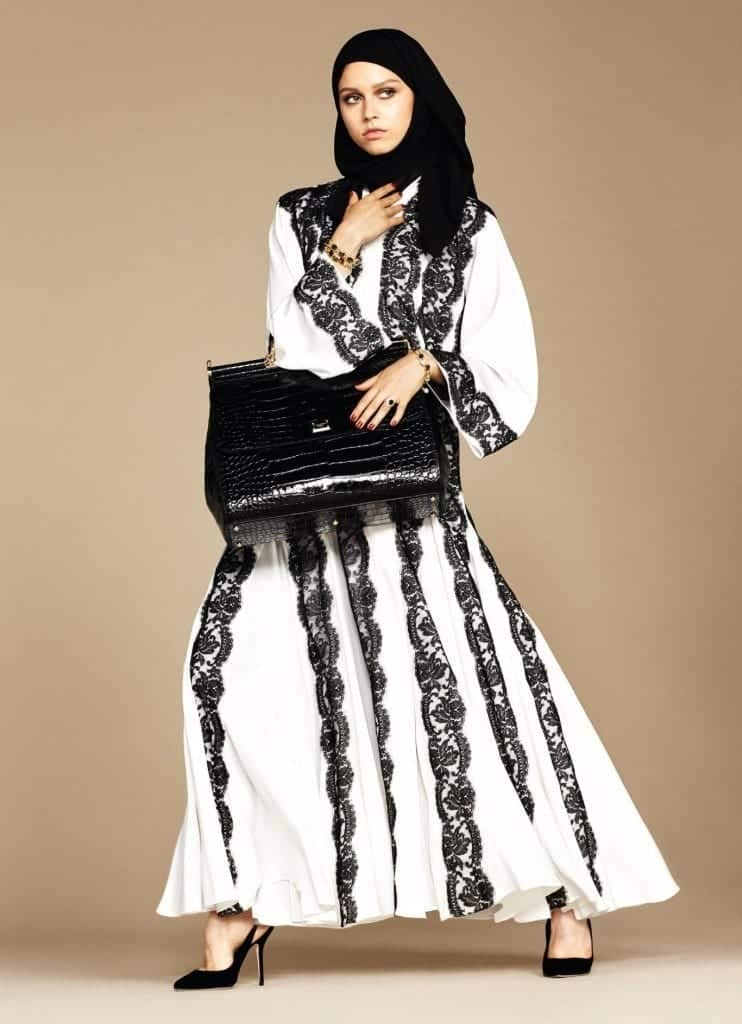 16-exclusive-dolce-gabbana-abaya-line-1-742x1024 Dolce & Gabbana Hijab and Abaya Collection 2016-Branded Girls