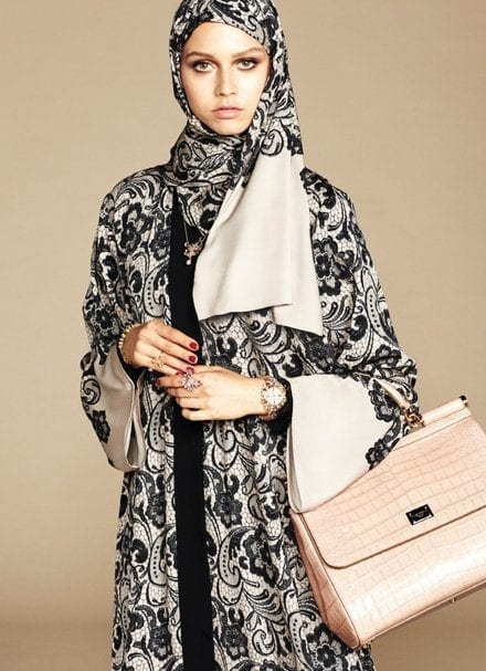 dolce and gabbana's hijab and abaya line launch (7)
