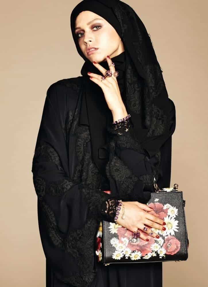 dolce and gabbana's hijab and abaya line launch (6)