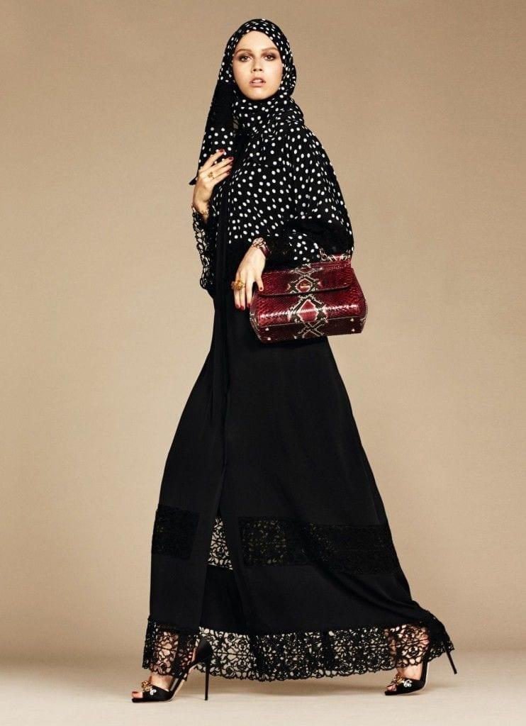5-exclusive-dolce-gabbana-abaya-line-742x1024 Dolce & Gabbana Hijab and Abaya Collection 2016-Branded Girls
