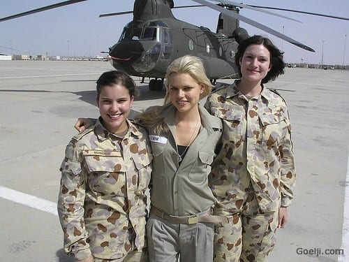 Australian Top 20 Countries With Most Attractive Female Soldiers In World