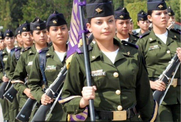 Mexican Top 20 Countries With Most Attractive Female Soldiers In World
