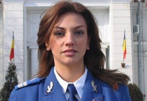 Romanian-Female-Soldier Most Sexy Female Soldiers-15 Most Beautiful Women In Uniform