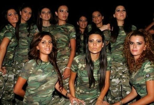 Hot Women-Soldiers
