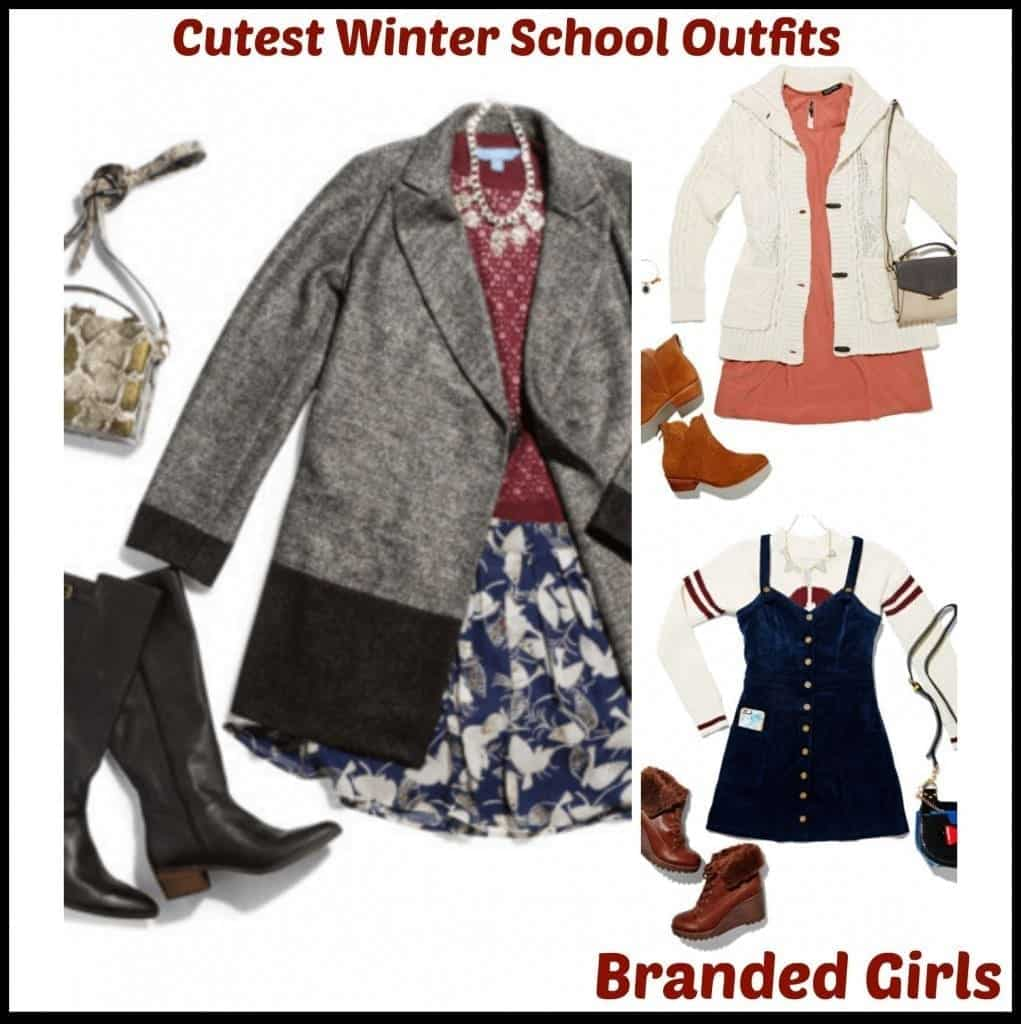 Winter School Outfit Ideas-20 Cute Dressing Ideas for ...