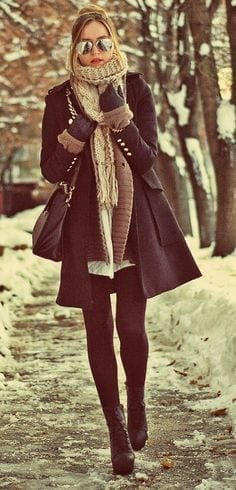 Top 20 Ways of how to wear leggings in perfect way (17)