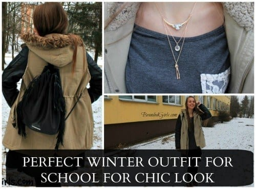 CUTE-school-outfits-500x369 Perfect Winter Outfit For School/College Girls-Monday Outfit