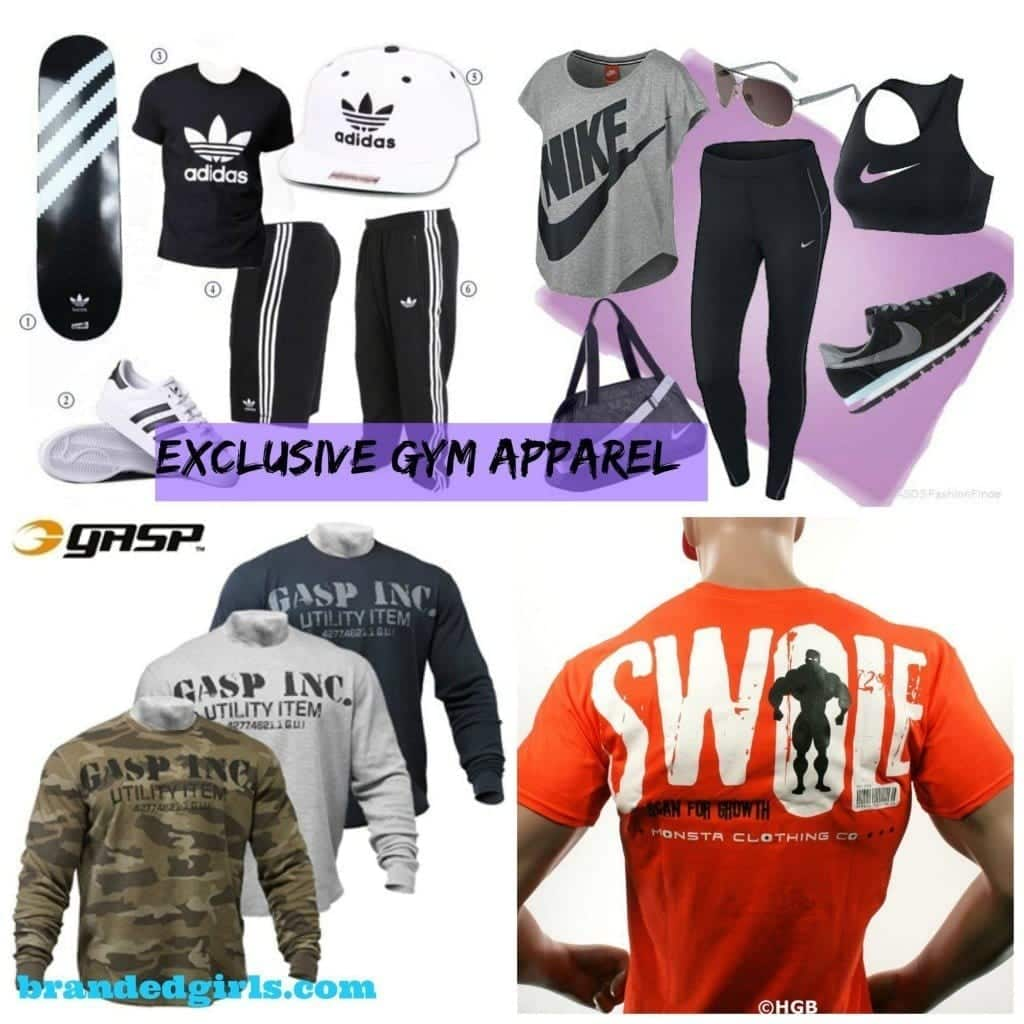 gym apparel brand