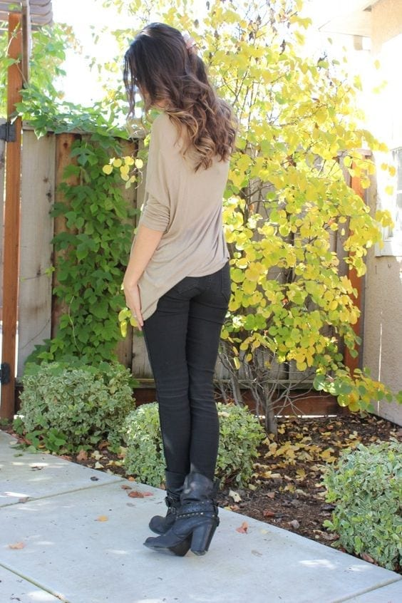 Top 20 Ways of how to wear leggings in perfect way (6)