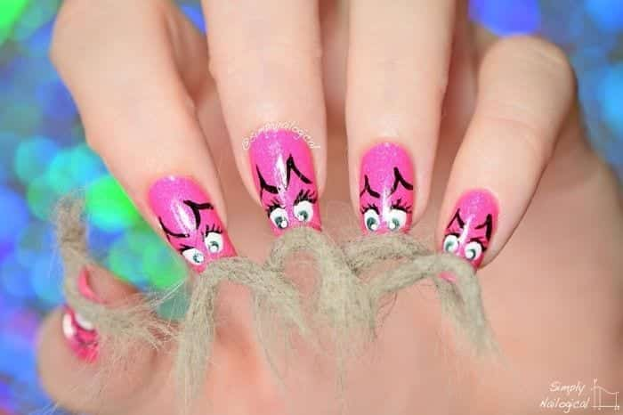 image1815__700 Top 20 Furry Nail Art Ideas - Best of Furry Fuzzy Nail Trend
