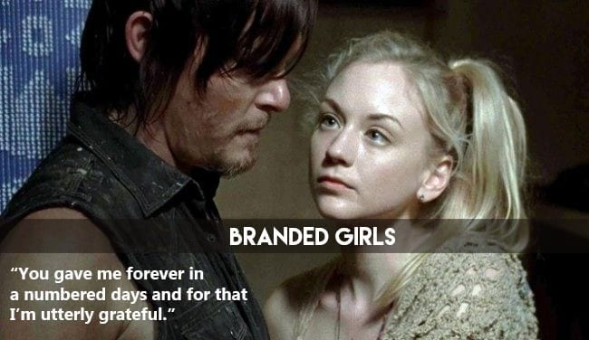 the-walking-dead-romance-rumors-are-daryl-and-beth-dating-in-real-life-461919 50 Cute and Funny Things to say to a Girl to Impress Her