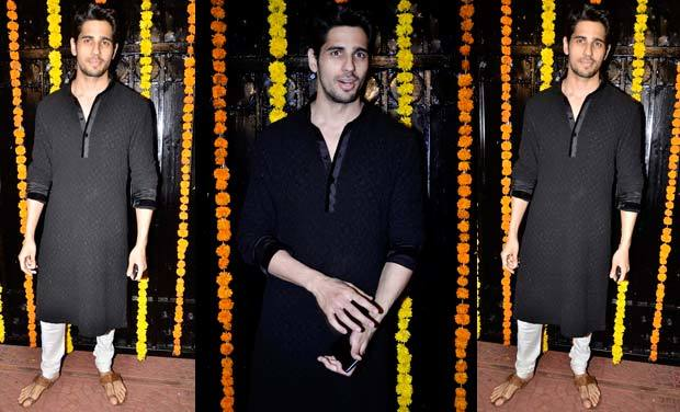 #1 - His Desi Black Kurta Outfit