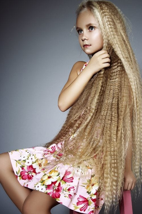 #1 - The First Youngest Girl With Long Hair