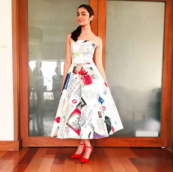 12-Alias-Artistic-Fan-Mail-Dress Alia Bhatt Outfits-32 Best Dressing Styles of Alia Bhatt