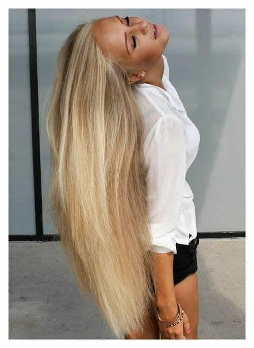 12-The-Girl-With-Cool-Pale-Blonde-Long-Hair Longest Hair Women-30 Girls with Longest Hair In the World