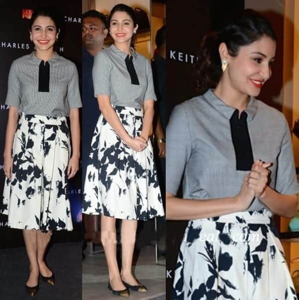 15-Anushka-Sharma-in-a-Creative-Charles-Keith-Outfit Anushka Sharma Outfits-32 Best Dressing Styles of Anushka Sharma