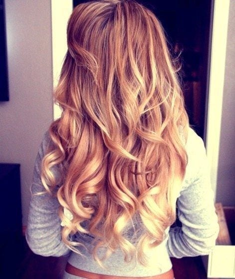#19 - Curly Blonde Hairstyle