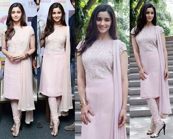 2-Simple-and-Sophisticated-Cultural-Look Alia Bhatt Outfits-32 Best Dressing Styles of Alia Bhatt