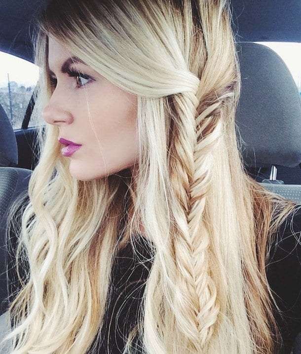 2-Stunning-Beach-Hairstyle-for-Round-Faces Hairstyles For Round Face-36 Cute Hairstyles for This Year